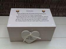 Shabby Personalised Chic Mum To Be Mummy Baby Keepsake EXTRA LARGE Memory Box ..