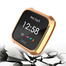 Replacement  Plating Soft TPU Frame Holder Shell Case For Fitbit Versa  Watch