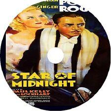 Star of Midnight DVD William Powell Ginger Rogers  V Rare 1935