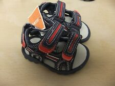 Boys sandals with front and back velcro straps from Debenhams.size 12/31