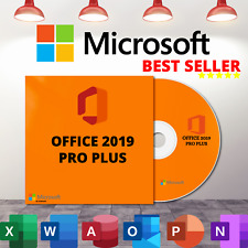 Microsoft®Office 2019 Professional Plus - DVD version
