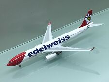 Phoenix Models 1/400 Edelweiss Air Airbus A330-300 HB-JHR die cast model