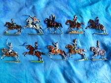 Plats d'étain HEINRICHSEN - Zinnfiguren - 10 cavaliers divers pays - lot 2