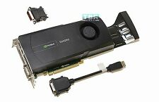 HP NVIDIA QUADRO 5000 PCIe 2.5GB GDDR5 671138-001 Pro Video Graphics Card