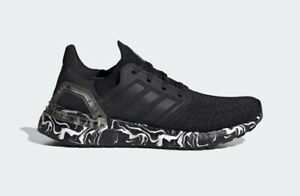 adidas UltraBOOST 20 W Glam Pack Black White Women Running Shoes Sneakers FW5720