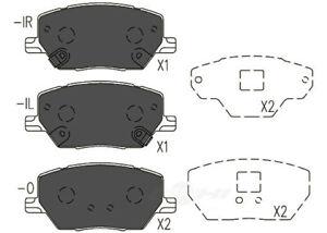 Disc Brake Pad Set-TSS Ceramic Pads Front Dash 4 Brake TD1811CH