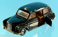 AUSTIN London ancien Taxi noir CORGI ouvrant made in Britain 12cm londonien