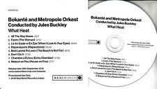 BOKANTE AND METROPOLE ORKEST What Heat 2018 UK 8-trk promo test CD