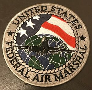 NY NJ DC CA GA MN IL PA TX Federal Air Marshal FAM Global Aviation Police Patch