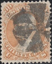 USA Scott #71 30ct Used VF Fancy Cancel CV $190