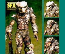 "SFX Movie Predator Yautja 1/6 Figure Vinyl Model Kit "" 3Face "" 11inch Bonus part"