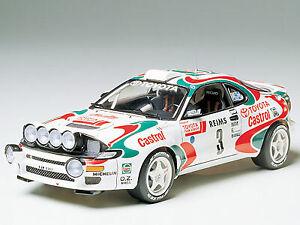 Tamiya 1/24 Toyota Celica WRC Rally model kit # 24125
