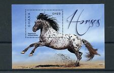 Ghana 2015 MNH Horses 1v S/S I Appaloosa Farm Animals