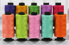 10 Fluorescent Color TS Cotton Sewing Thread Spools