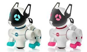 Smart Dancer Dog Cat Toys Robot Electronic Pet Adorable Flashing Pink Blue