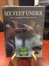 SIX FEET UNDER  - The Complete Fourth Season (DVD, 2005, 5-Disc Set)Mfg sealed