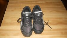 WOMENS PUMA BLACK SNEAKERS SIZE 7 VERY NICE CONDITION