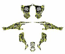 CAN AM DS 450 DS450 graphics sticker kit Manta Green Digital Camo