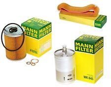 Mann Oil Air Fuel Filter Service Kit for Mercedes C107 W116 W126 380SE 420SEL