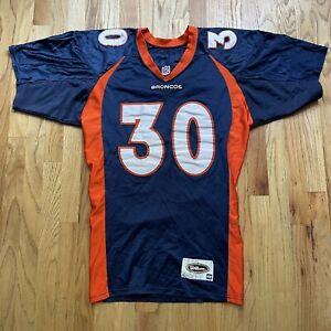 Mens Vintage 90s Wilson Denver Broncos Terrell Davis Pro Cut Authentic Jersey 48
