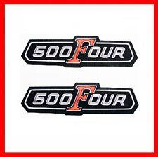 HONDA CB 500 FOUR!!! Aucun!!! Emblème pages Couvercle side cover Neuf Logo image