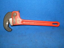 "Ridgid 12"" Cast Iron Rapidgrip Pipe Wrench Nice Older One"
