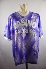 SV Casino Salzburg Trikot Gr. XL Puma #19 80er vintage Kader signiert 1988 89 ?
