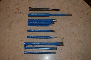 Dasco Pro Cold CHISEL406-0 Starter, Pin 589-0 , Center, Inch Center PUNCH (MORE)