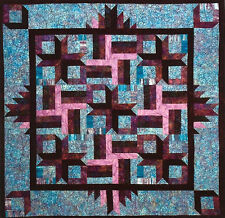 New Strip Pieced Quilt Pattern 57x57