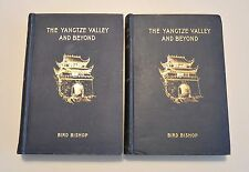 THE YANGTZE VALLEY AND BEYOND 1900 Two Volumes China Chinese