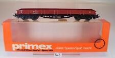 Primex H0 4545 Niederbordwagen 4-achsig der DB OVP #3763