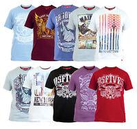 D555 New Men's Photo Print Cotton T-shirt Graphic Printed Design Top City