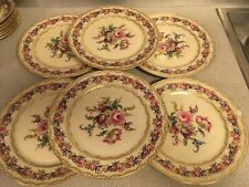 "Lot of 6 Vintage Rosenthal Ivory Bavaria VIENNA 10.25"" Dinner plates 1 of 11"