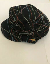 Blue Kangol Boy Gold Cap Neon Check Baker Size Small