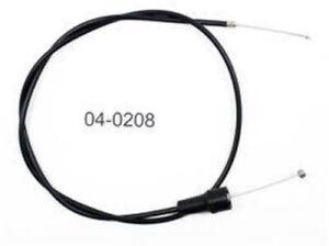 Motion Pro 2008 Suzuki RM 125 Suzuki Throttle Cable Black Vinyl 04-0208 06-4208