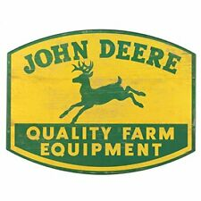 John Deere Wooden Logo Sign - Lp67211
