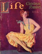 1927 Life December Christmas Issue - Tom Mix;Lon Chaney;Held Jr.; Gruelle; Flagg