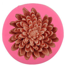 3D big Chrysanthemums Flower Soap Silicone Molds Fondant Cake Decorating Tools
