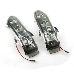 Pair Door Side Mirror Turn Signal Light For Mercedes CL S-Class W220 W215 03-05