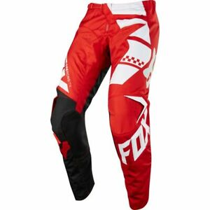 Fox Youth 180 Motocross MX Off Road Trousers Pants Sayak - Red