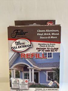 Fuller Brush Full Crystal Full Exterior Cleaner 2 Refills 8oz Only As Seen On TV