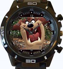 Angry Tazmania Demonio Nuevo Gt Series de deportes Unisex Regalo Reloj