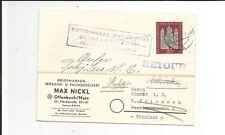 Schweiz Mi.nr 406 Als Ef Auf Ortsbrief Lots & Sammlungen