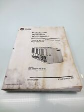 Trane air handler in business industrial ebay trane rtac 140 500 air cooled installation operation maintenance book manual sciox Choice Image