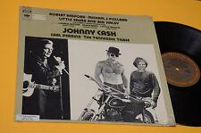 JOHNNY CASH LP LITTLE FAUSS..1°ST ORIG USA PROMOTIONAL PRESS EX TOP RARE