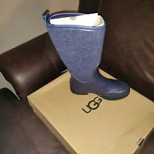 Womens Size 5 Uggs Blue Rain Boots