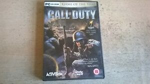 CALL OF DUTY 1 GAME OF THE YEAR - GOTY PC GAME - FAST POST - ORIGINAL & COMPLETE