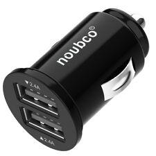Car Charger, Dual USB Port, Noubco 24W 4.8A Flush Fit Car Adapter