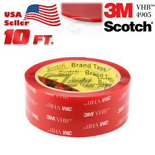 Genuine 3M VHB #4905 Clear Double-Sided Tape Mounting Automotive 40mmx10FT