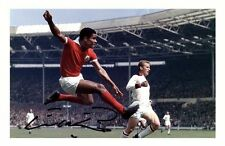 EUSEBIO AUTOGRAPHED SIGNED A4 PP POSTER PHOTO